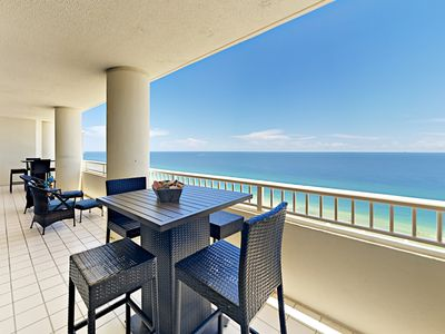 Photo for Mesmerizing 19th-Floor Gulf Views! 4BR All-Suite at The Beach Club w/ 5 Pools