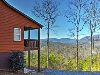 Photo for 'Tranquility' Young Harris Home w/Mountain Views!