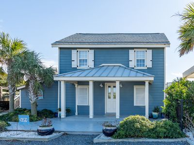 Photo for Rare Find!!! 2-Bedroom Historic Oceanfront Beach Cottage with Pool on Caswell Beach