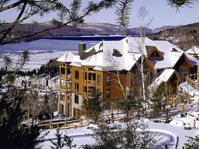 Photo for Exclusive Resort Property, Ski-in/out, Infinity Pool, Elevator, 2 Car Parking