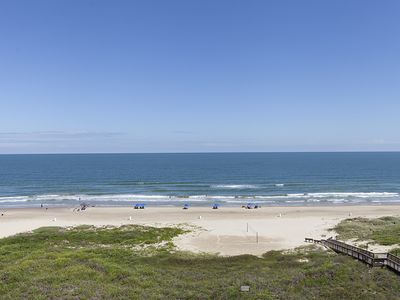 Photo for 2 bedroom beach front condo located on the 7th floor