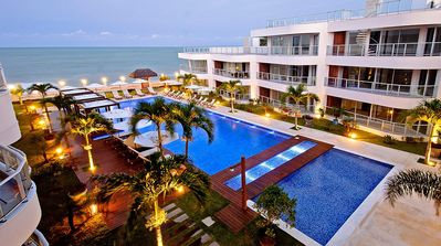 Photo for Penthouse Equipped with pool and sea view