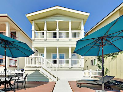 Photo for Breezy 2BR - Only 300 Yards to Beach! Near Wine Tasting Rooms