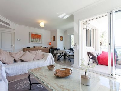 Photo for Stunning two bedroom apartment suite on the seafront of Cannes