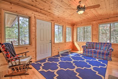 Enjoy a colorful welcome to this LaPorte vacation rental!