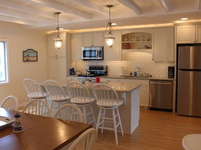 Photo for Beautifully Renovated Oceanfront Townhome on Bethany boardwalk!