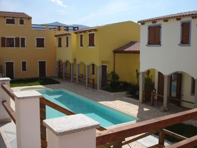 Photo for 4 beds in a residence with swimming pool Viddalba