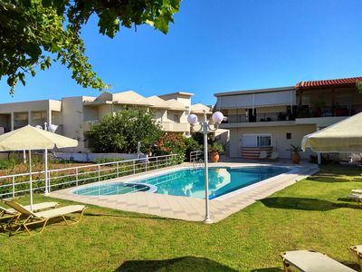 Photo for Theros - Newly Renovated Serviced Apartments only 200m from the beach