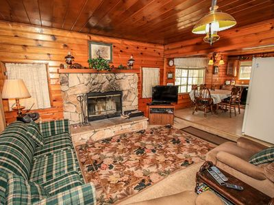 Photo for House in Big Bear Lake with Parking, Internet, Balcony (983703)