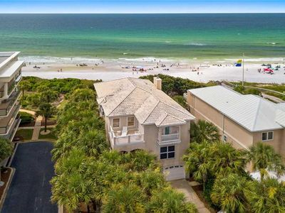 Photo for Happy Talk - Gulf Front, Seagrove, Heated Private Pool, Free Beach Service!