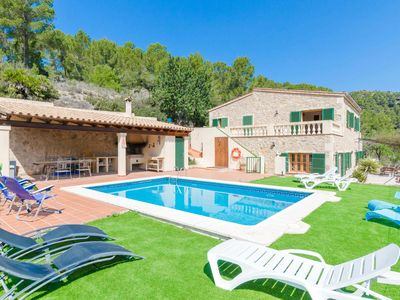 Photo for YourHouse CanPerxota - villa with private pool in the mountains in Sant Elm