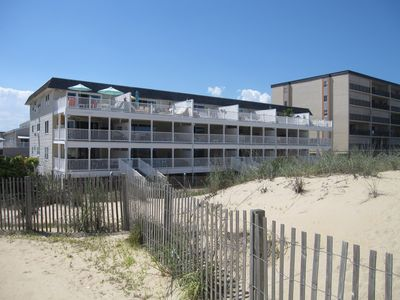 Photo for Direct Oceanfront at 129th St--2BR--Huge Deck