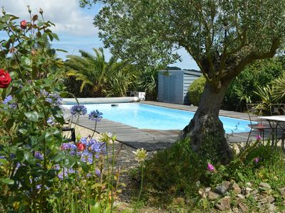 Photo for Paimpol-Pourivo, cottage with pool and garden use