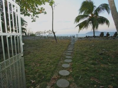 Photo for OCEAN FRONT BEACH HOME SLEEPS 4-SURF VIEW AND MONKEYS IN THE TREES