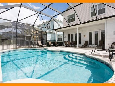 Photo for Reunion Resort 911 - villa with pool nr Disney & unlimited free waterpark access