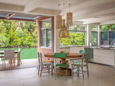Photo for Waterfront Home Combines Architectural Brilliance and Premium Location