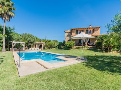 Photo for Villa with private pool and nice garden, free Wifi, near Alcudia