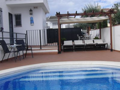 Photo for BEAUTIFUL VILLA SEA VIEWS, PRIVATE SWIMMING POOL, AIR CONDITIONING, FREE WI-FI