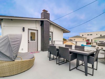 Photo for 🌊 Unmatched Relaxation 🌊 A/C, BBQ, Large Roof Deck, ALL NEW Interior!