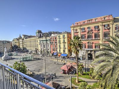 Photo for Appartamento Re Carlo: A bright apartment located in the historic center of Naples, with Free WI-FI.