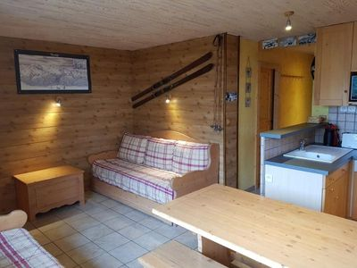 Photo for Apartment Les Arcs 1600, 1 bedroom, 4 persons