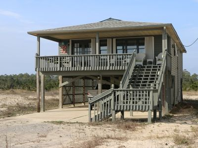 Photo for Beautifully decorated beach house, right across the street from beach access!
