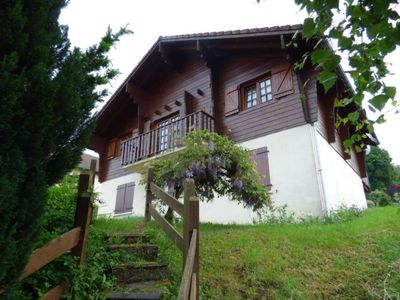 Photo for Ground-floor home in authentic chalet in a unique location near the pistes in the Vosges