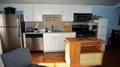 Photo for Newly Renovated 2 BR Beach House - Just Steps to the Beach!