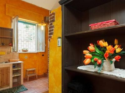 Photo for Studio apartment in Rome with Internet, Air conditioning, Washing machine (493090)