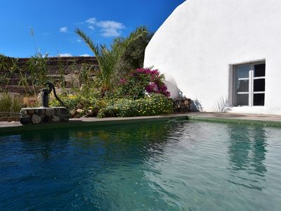 Photo for Emporio House, Santorini Island, 3 Bedrooms, 3 Bathrooms, Private Pool. Up to 8 Guests, ideal for a large family !