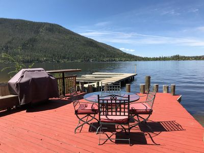 Photo for Charming Cabin In Town And On Lake! Sleeps 8!