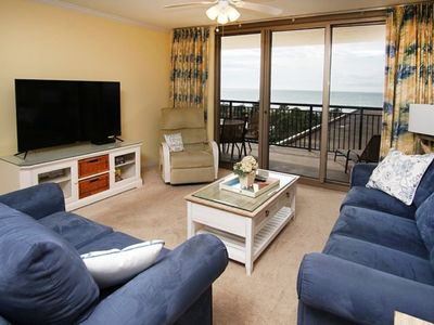 Photo for Kingston Plantation Brighton Tower #209, Spacious 3 BR Ocean View Condo with Outdoor Swimming Pool and Hot Tub