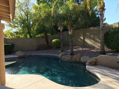 Photo for Your Home Away From Home-Resort Like Home-Tranquil Backyard With Pool Oasis