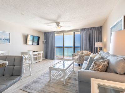 Photo for SAVE on Remodeled Beachfront*Indoor/Outdoor Pool*On Beach*Nearby Waterpark