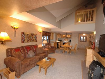 Photo for NEWLY REMODELED! 2 Story Luxury SkiIn/SkiOut Condo, Mountain Village at Big Sky