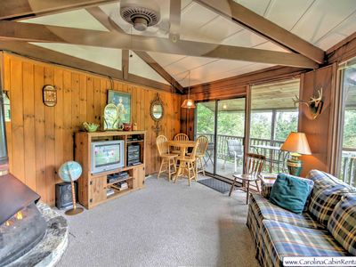 Photo for 2BR/2BA Roundhouse, Near Beech Mountain, NC, Club Amenities, Close to Ski Slopes