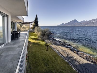 Photo for New CasaClima Gold villa by the lake with large garden for absolute relaxation