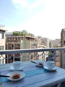 Photo for Athena's Home, Central of Athens, Close to Metro, 7th floor balkony.