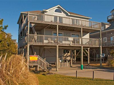 Photo for Worries Fade Away at this Oceanview Home in Waves w/ Hot Tub, Game Room, WiFi