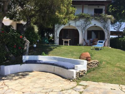 Photo for Villa with private beach viewing Spetses