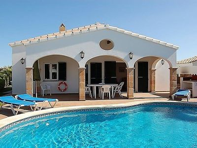 Photo for Vacation home Villas Begonias V3D AC 01  in Cala'n Bosch, Menorca - 6 persons, 3 bedrooms