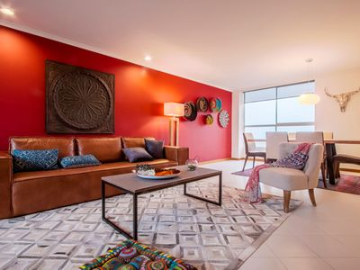 Photo for Gorgeous Colombian Style Three Bedroom Apartment