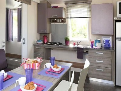 Photo for 2BR Mobile Home Vacation Rental in Canet en Roussillon