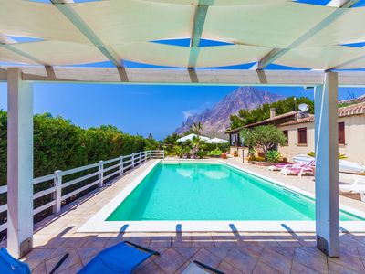 Photo for Private pool, by the sea, lovely garden