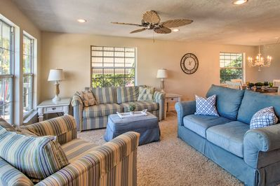 Make yourself at home in this Jensen Beach 3-bed, 2-bath vacation rental.