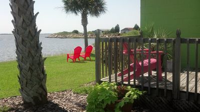 Photo for Waterfront Cottage on Bogue Sound.  Located between Swansboro & Morehead City,NC