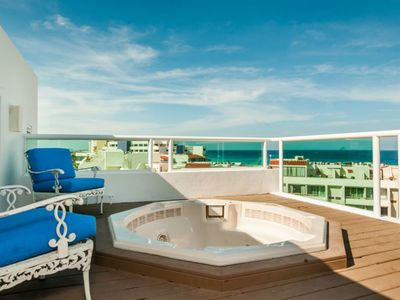 Photo for Rooftop Private Jacuzzi -  Great Views