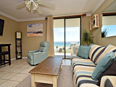 Photo for Gulf Shores Surf & Racquet 514A - Perfect getaway with a direct Gulf view!