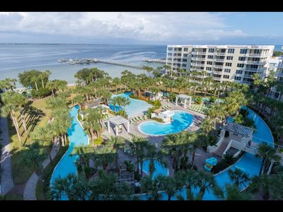 Photo for Enjoy the view and  Huge Lazy River and large 3BR unit.