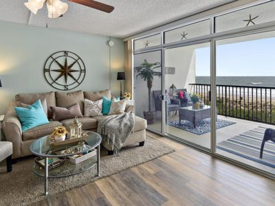 Photo for BEAUTIFULLY REMODELED DIRECT OCEAN FRONT CONDO OVERLOOKING POOL & BEACH!